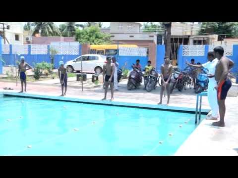 KRM PUBLIC SCHOOL - SWIMMING TRAINING CAMP