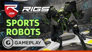 Full Match: Sharks v Vultures - RIGS: Mechanized Combat League