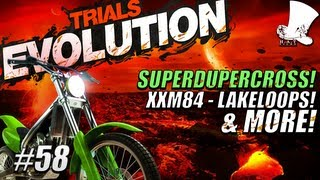 Hatventures - Trials Evolution #58 - SuperDuperCross! xXM84 - LakeLoops! Hot to Trot!