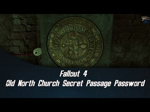 Fallout 4 Old North Church Secret Passage Password