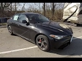 2017 Alfa Romeo Giulia Ti Sport Q4|Walk-Around Video|In-Depth Review