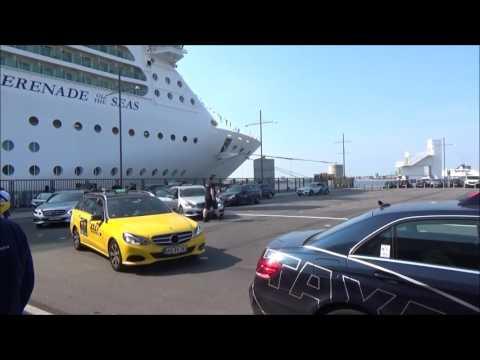 Copenhagen Taking Public Bus to Cruise Terminal Oceankaj Serenade of the Seas