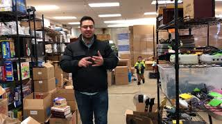 Ebay & Amazon Seller Warehouse Walkthrough Tour ~ Organized & Workflow Optimized