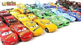 Learning Color Numbers Special Disney Pixar Cars Lightning McQueen Mack Truck for kids car toys