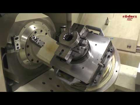 Röders RXP601DSH Schleifbearbeitung einer Ziehmatrize / Grinding of a Drawing Die / HSC Grinding