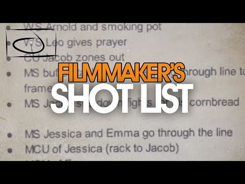 Working With A Shot List - YouTube