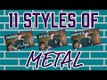 11 Styles Of Metal mp3