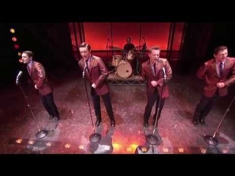 Jersey Boys, the hit musical at London's Piccadilly Theatre