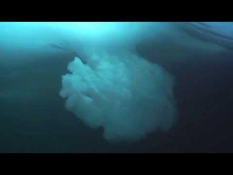 Diving Under the Arctic Polar Ice Cap, Nunavut, Canada
