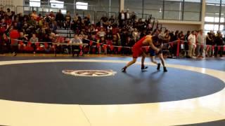 2015 Junior National Championships: 55 kg Ligrit Sadiku vs. Bradley MacPherson