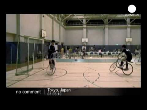 Cycle soccer in Japan - no comment