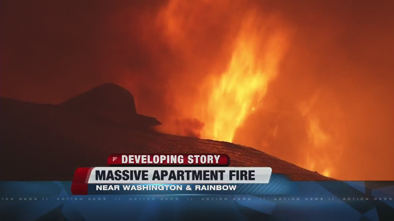 UPDATE: 40 displaced, 1 injured after apartment fire near Rainbow,  Washington