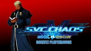 SVC Chaos: SNK vs. Capcom: Goenitz Playthrough & Ending (Xbox)