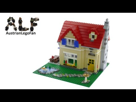 Lego Creator 6754 Family Home - Lego Speed Build Review