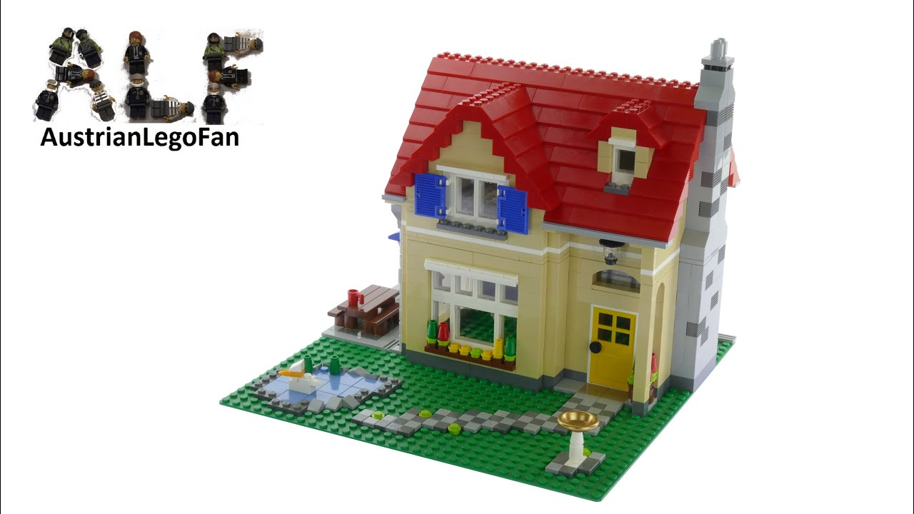Lego Creator 6754 Family Home Lego Speed Build Review