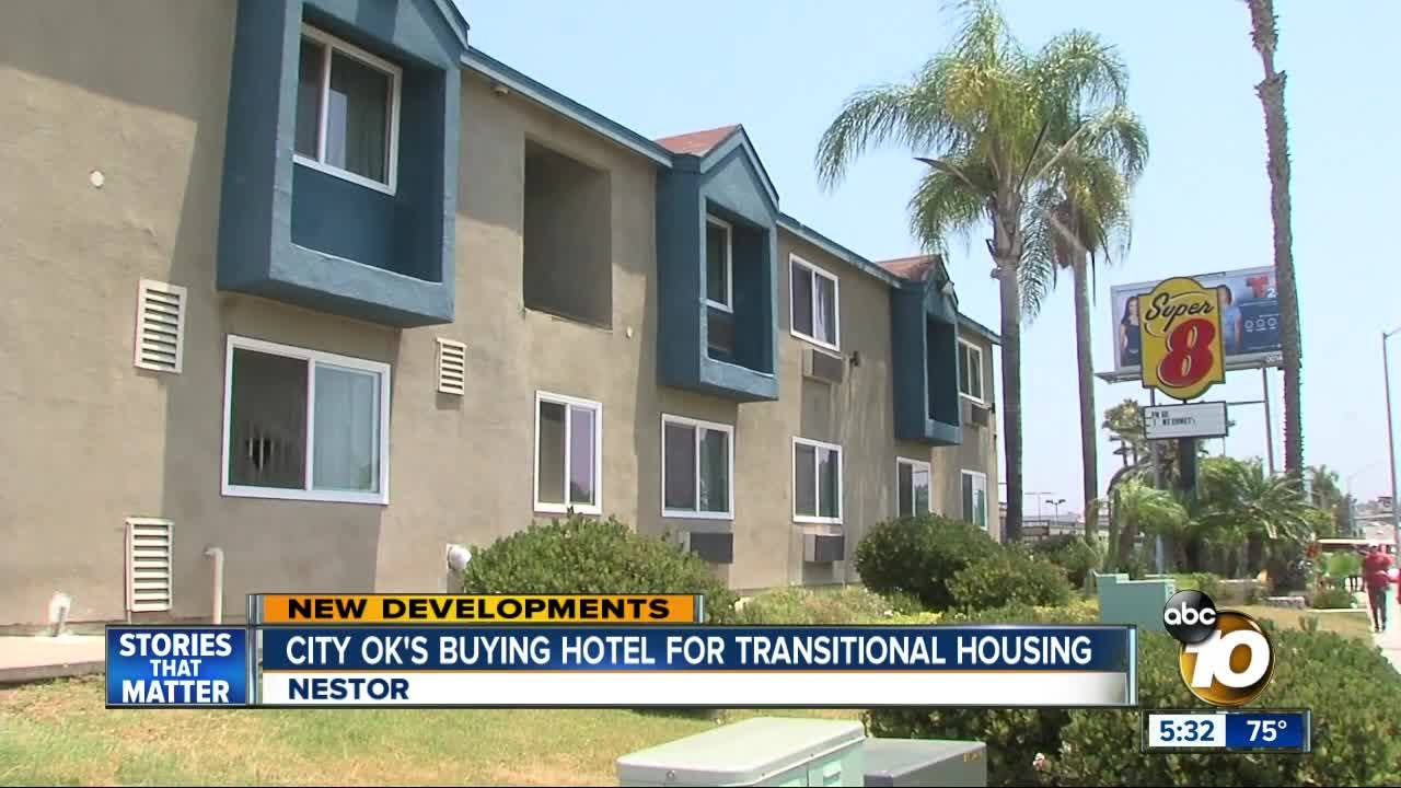 city ok's buying hotel for transitional housing - youtube