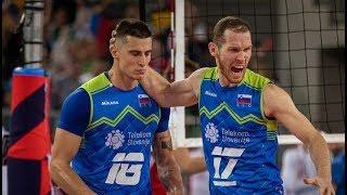 Slovenia-Poland  Semifinal Highlights   European Championship Volleyball 2019