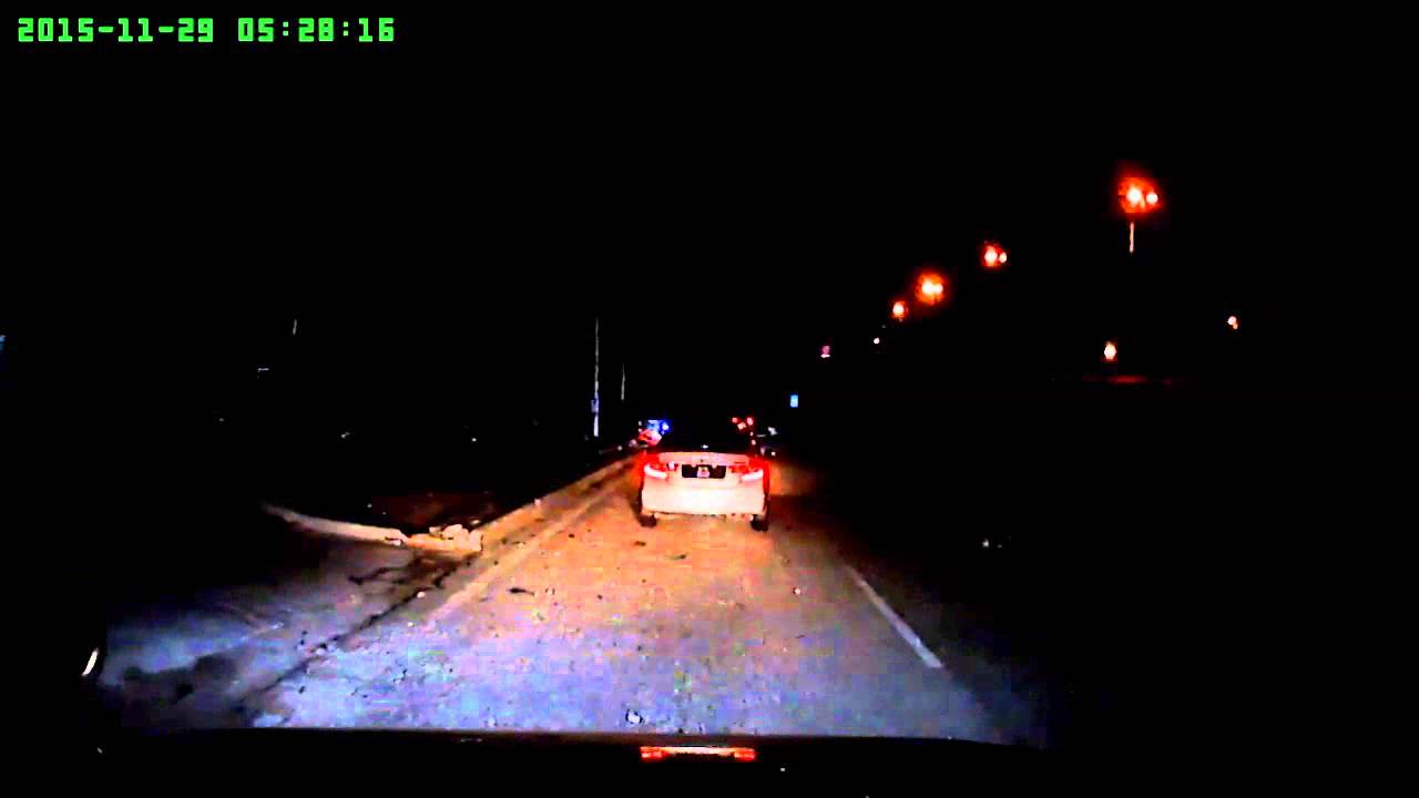 Ferrari fell into a fatal accident at MEX Highway 29112015