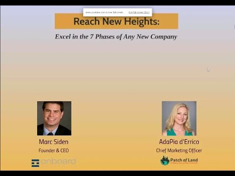Reach New Heights: a webinar from Onboard Informatics and Patch of Land