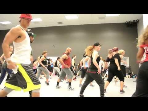 "Mike Peele Master class w/U-Jam Fitness/Wale Ft. Rihanna ""Bad"" Remix"