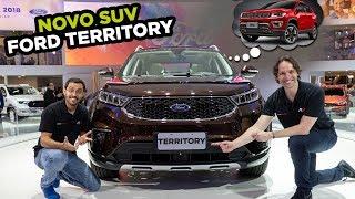 🤔Nova arma da Ford contra o Jeep Compass? Conheça o FORD TERRITORY (SUV desenvolvido na China)
