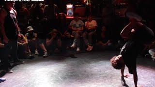 IBE 2014 | 2 on 2 Bgirl Battle Final | Lil Jen & Lerok vs. Zana & Short bread