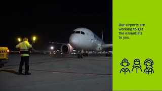 Aena | Our airports are working to get the essentials to you