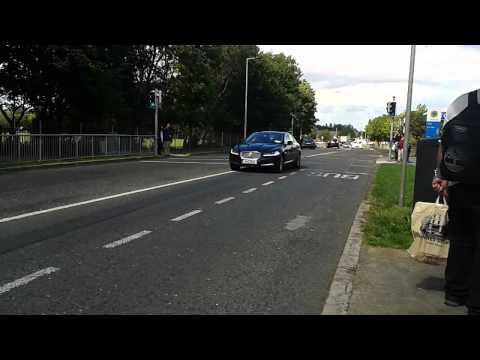 x3 Garda Cars responding to a call in South Dublin