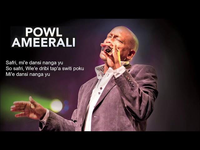 Powl Ameerali- Safri Lyrics