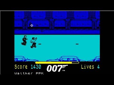 007   The Living Daylights ~ ZX Spectrum