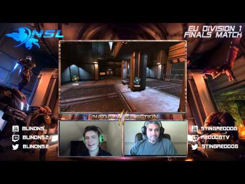 NSL S2 EU D1 Finals - Archaea vs Godar - Postmatch Interview