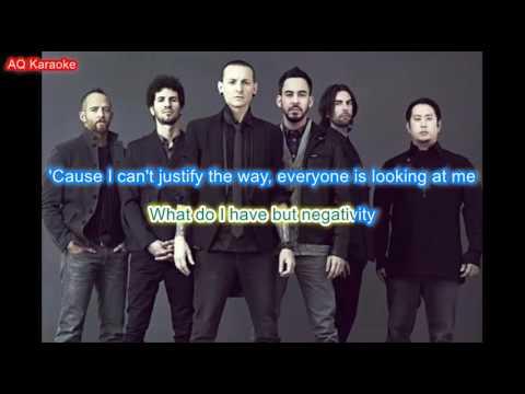 Somewhere I belong - Linkin Park (Chester Bennington) karaoke lyrics