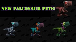 How to obtain the new Falcosaur Pets - Guide