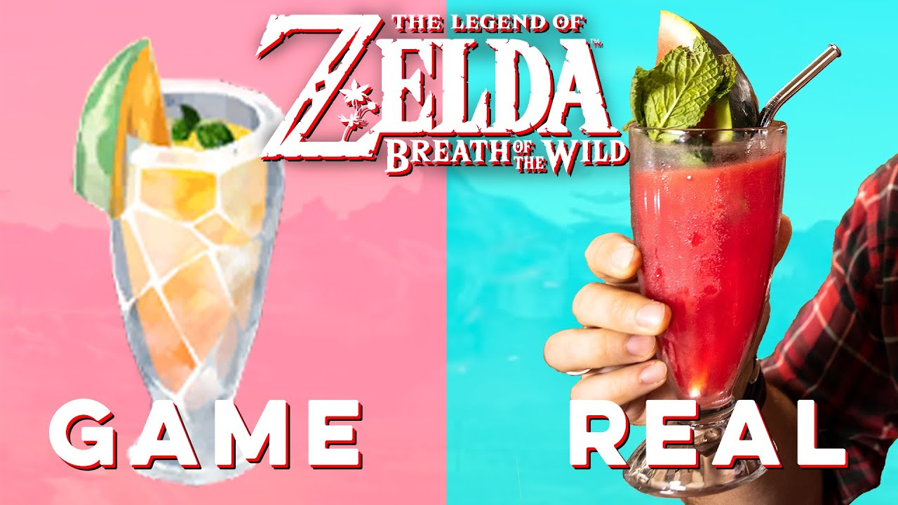 Noble Pursuit from Zelda Breath of the Wild   How to Drink