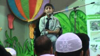 Surat-un-Naba - Ahmed Wail from Al-Sadiq I.E. School [2nd runner-up]