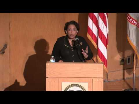 Attorney General Lynch Visits United States Military Academy at West Point