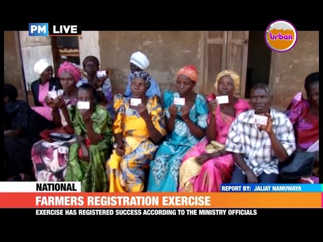 #PMLive: Farmers registration exercise