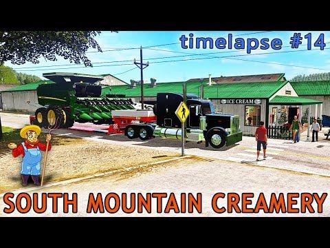 Farming simulator 17 | South Mountain Creamery Farm With Seasons | Timelapse ep#14