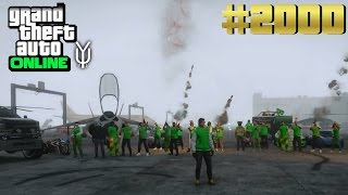 GTA 5 ONLINE DANKE! #HammerGeil #2000 Let`s Play GTA V Online PS4 YU91