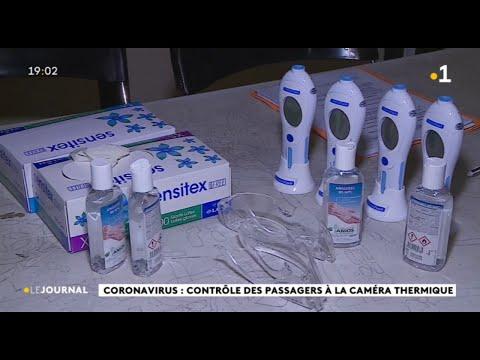 Coronavirus, le contrôle des passagers à l'aéroport a commencé