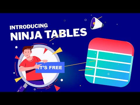 Introducing Ninja Table Version 2.4.0 - Best Data Tables Wor