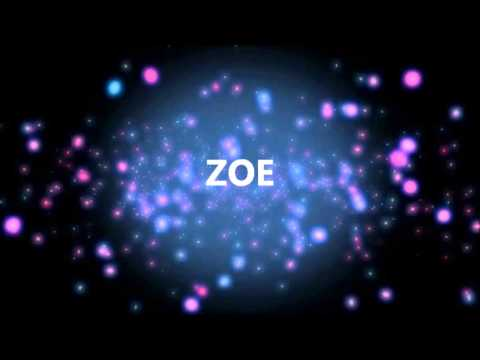 Joyeux Anniversaire Zoe Youtube