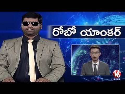 Bithiri Sathi Acts As Robot | Funny Conversation With Savitri On Robot Anchoring | Teenmaar News