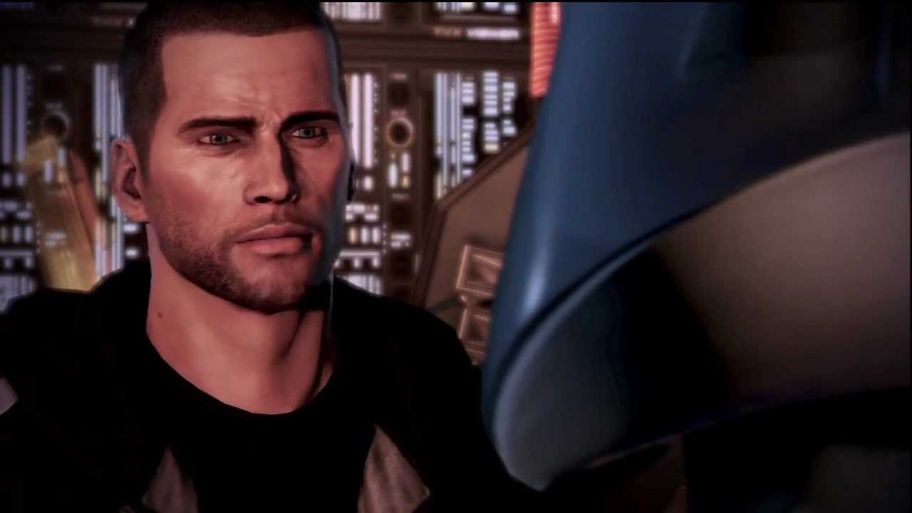 Commander Shepard Makes The Shep Face