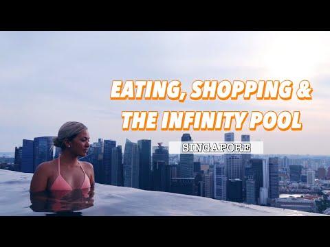 EATING AND SHOPPING IN SINGAPORE ✈️ SINGAPORE TRAVEL VLOG - Vlog 39