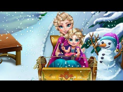 Эльза Frozen Игры—Малышка Эльзы—Онлайн Видео Игры Для Детей Мультфильм 2015