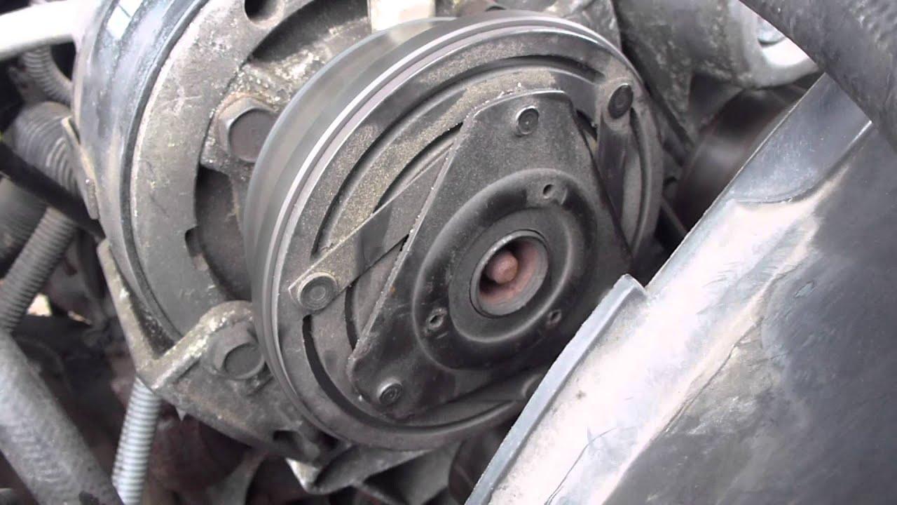 4 Wire Pigtail Diagram 4 3l Vortec V6 A C Compressor Problem 1995 Chevrolet