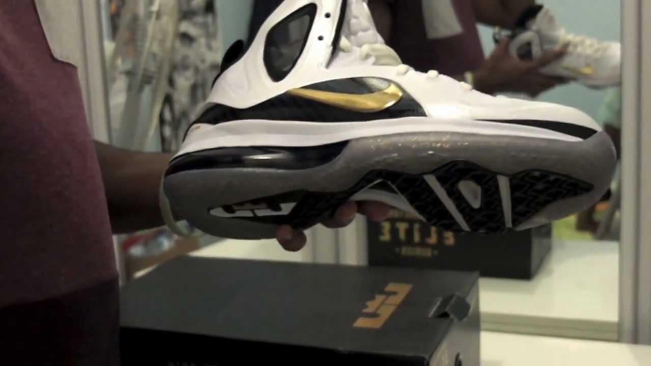 huge selection of eb6f8 e1b1f Nike Lebron 9 P.S. Elite (Home)  Unboxing, review   on feet - YouTube