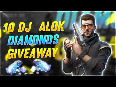 free-10-dj-alok-giveaway-for-all-ii-800k-family💖--garena-freefire