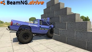 BeamNG.drive - INDESTRUCTIBLE WALL